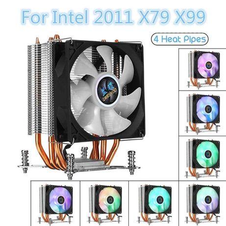 Cooler Intel 2011 X79 X99 x299 heatpipe cobre