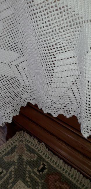 Colcha em crochê, feita á mão