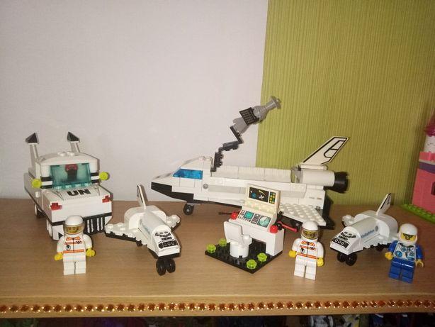 lego,конструктор лего,набор космос,машинка,самолет,человечки