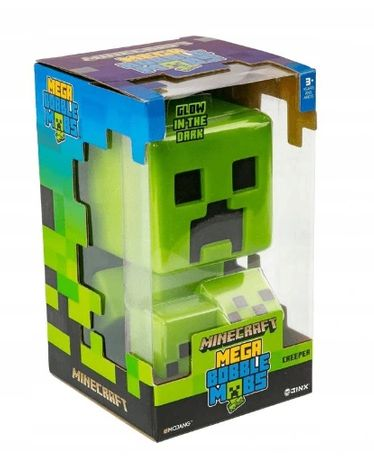 Figurka Minecraft Creeper Mega Bobble Mob