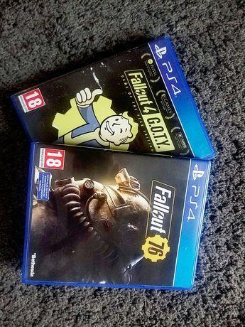 Fallout 4 i Fallout 76 bdb ps4