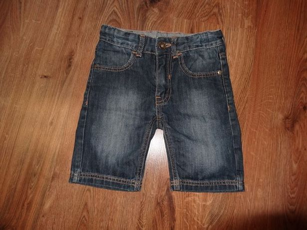 Krótkie spodenki jeansowe ENDO roz. 110