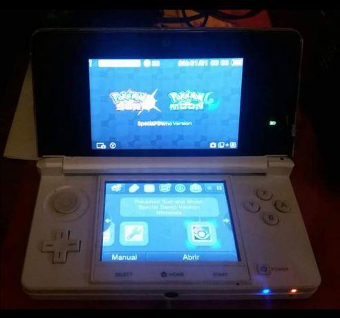 Nitendo 3DS com jogos
