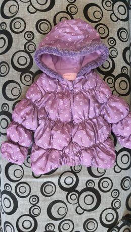 Куртка на дівчинку 1-1,5 рочки