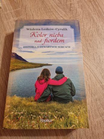 Kolor nieba nad fiordem W. Leśków-Cyrulik książka