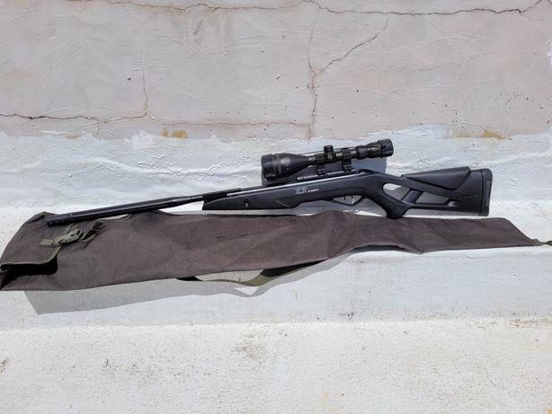 Pressão ar GAMO BULL WHISPER IGT em 5.5mm + HAWKE Sport HD 3-9X50 AO