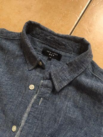 Koszula meska niebieska