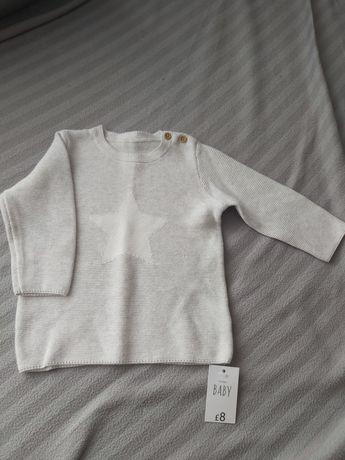 Sweterek angielska firma Matalan