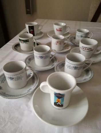 Lote de 10 chávenas de café