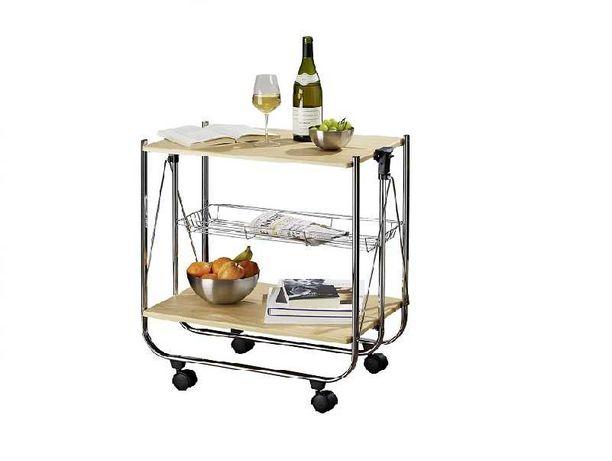 столик складаний кухонний Wenko  DM Wood
