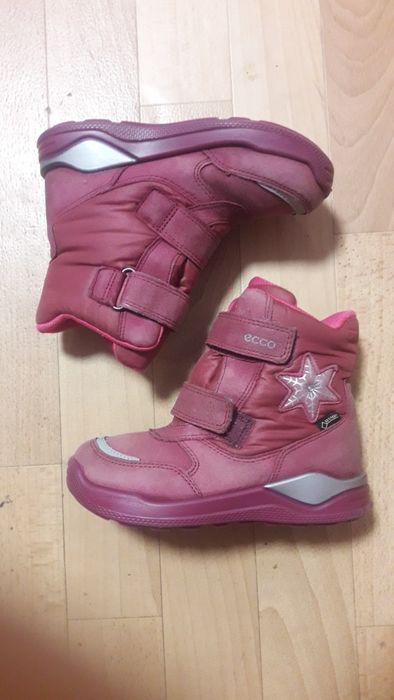 Фирменные кожаные термо ботинки сапоги Ecco gore-tex оригинал рр 29 Киев - изображение 1