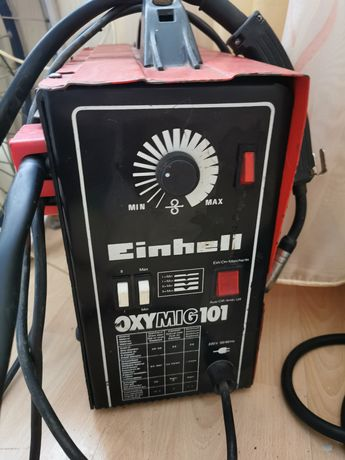 Полуавтомат Einhell oxymig 101 сварочный аппарат MIG/MAG сварка