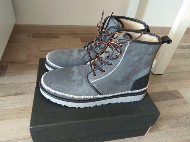 Оригинал ugg зимние ботинки нат замша us 15 eur 49-49,5, ст 32, 5 см