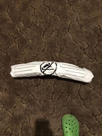 Надувной матрас белый маленький