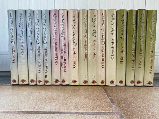 Coleção completa livros de autores Portugueses