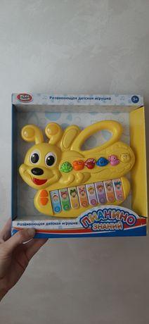 """Детская развивающая игрушка орган """"Пианино знаний"""""""