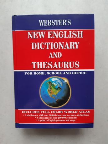 Webster's New English Dictionary and Thesaurus