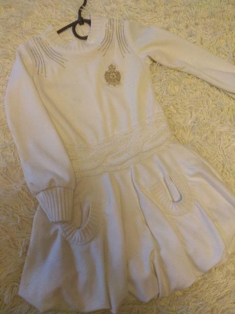 Теплое платье 122