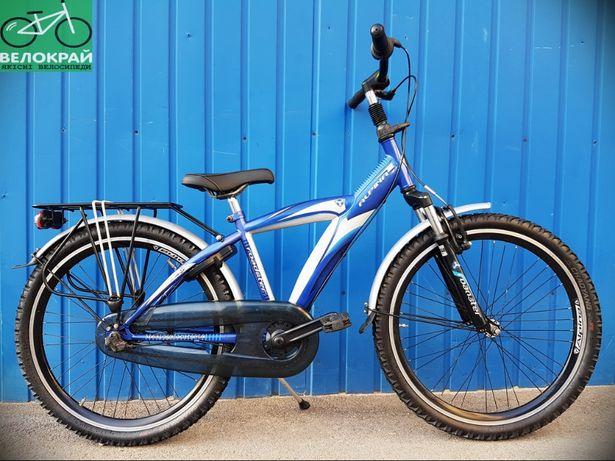"""Підлітковий 24"""" велосипед Alpina на планетарці Shimano Nexus #Велокрай"""