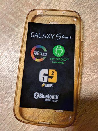 Чехол силиконовый Samsung Galaxy S4 mini