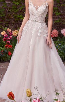Przepiękna suknia ślubna marki Maggie Sottero, rozmiar 38 - Ivory