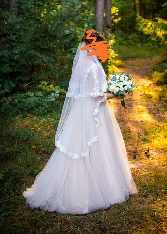 Свадебное платье, весільна сукня 42-46 розмір