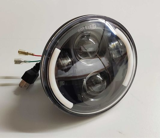 "Farol LED DRL 5.75"" Moto"