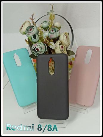 Capa Silky soft touch P/ Xiaomi Redmi 7A / Redmi 8 / 8A -Nova-24h