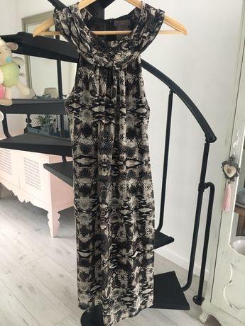 Sukienka s.oliver, wzór zwierzęcy, S, wesele impreza