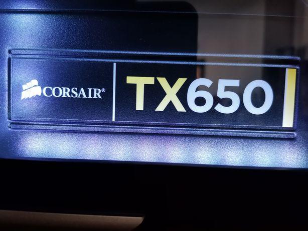 Fonte Alimentação PC - Corsair TX650