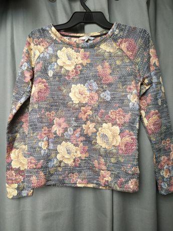 Sweter w kwiaty, clockhouse