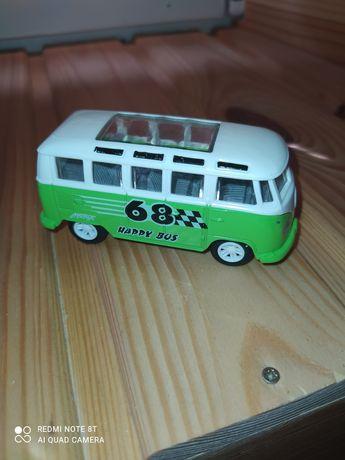 Машинка автобус инерционная