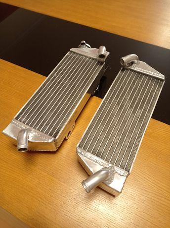 Radiadores Alumínio KTM250 SX-F e SXF de 2005 e 2006