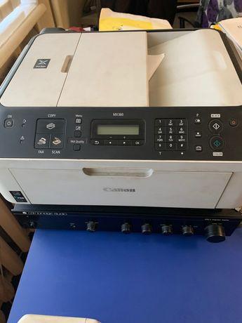 Сканер- принтер- факс canon