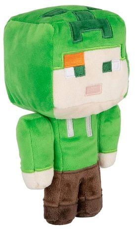 Minecraft maskotka Alex w kostiumie Creeper *Video-Play Wejhwo