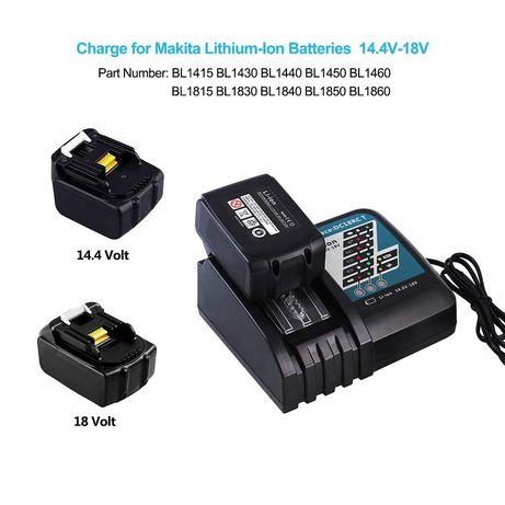 Быстрозарядное зарядное устройство Makita DC18RC LXT / CXT