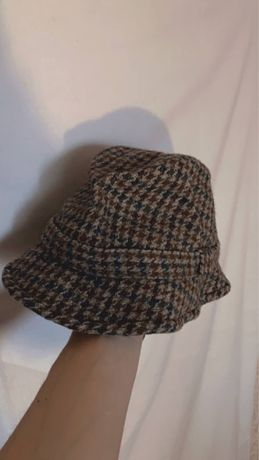 панама кепка джиганка harris tweed kangool burberry