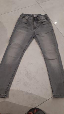 Spodnie rurki ZARA r.122