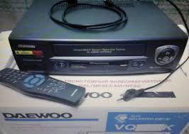 Пишущий 4-головочный видеомагнитофон DAEWOO VQ430K