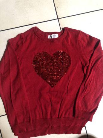 Zestaw bluz dla dzirwczynki 110-116 r