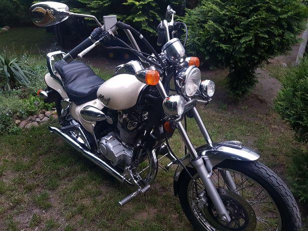Motocykl poj. 125,chopper,kat.A1,A2,B