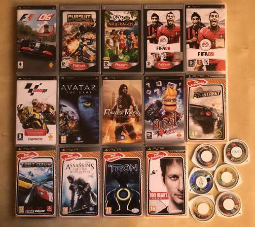 Lote jogos PSP varios