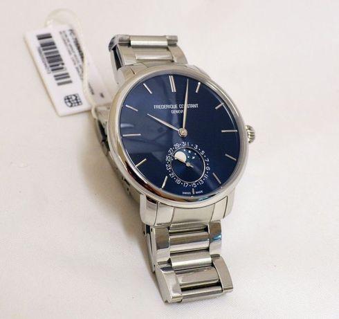 Швейцарские часы Frederique Constant Slimline Moonphase FC-705N4S6B2