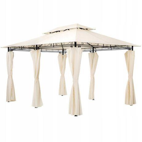 EKSKLUZYWNY Pawilon ogrodowy 3x4 m ALTANA namiot BEŻOWY