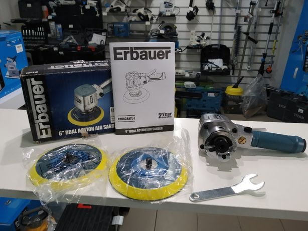Пневматична шліфувальна машина Erbauer ERN638Atl 150mm