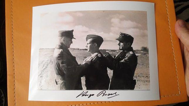 As Luftwaffe Hugo Broch autog. SUPER FOTA