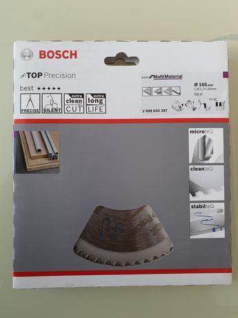 Пильный диск Bosch 165x20x56T MULTI TOP, 2608642387