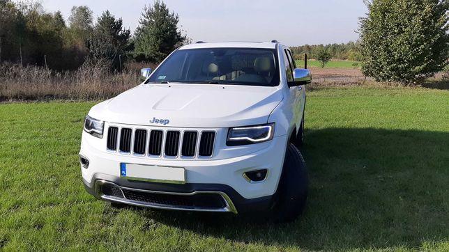 Auto do ślubu Jeep Grand Cherokee