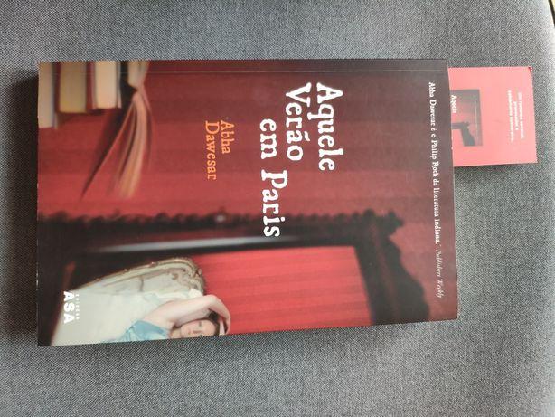 """Livro """" Aquele Verão em Paris"""" Abha Dawesar"""