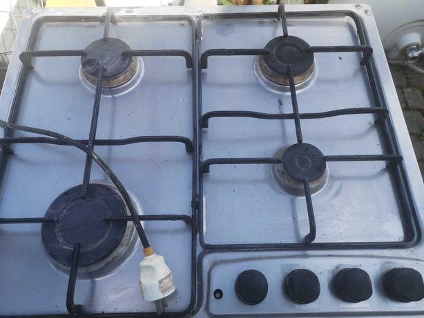 Płyta gazowa - kuchnia gazowa - 4 palniki, używana, sprawną...